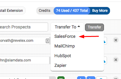 salesforce bulk transfer