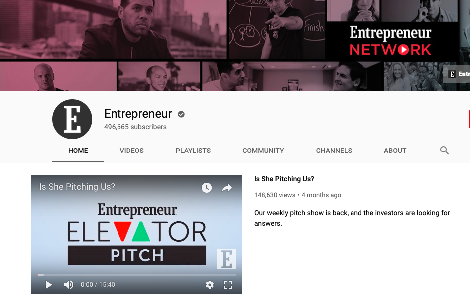 Entrepreneur-youtube