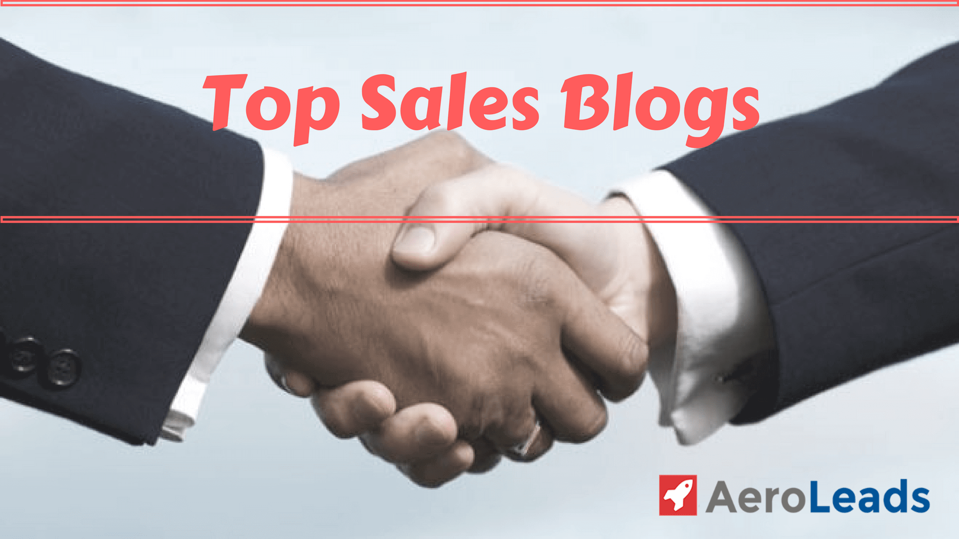 best sales blogs | top sales blog