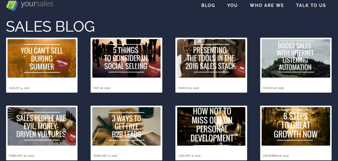 best sales blog | top sales blog
