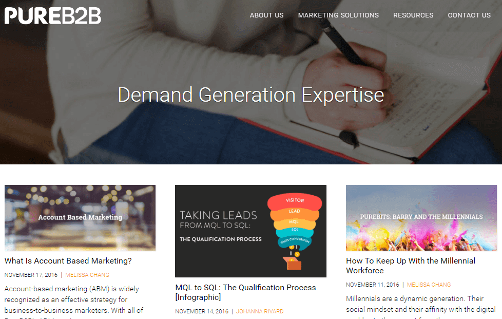 pure-b2b-lead-generation-blogs