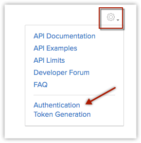 Zoho Aeroleads API auth token generation