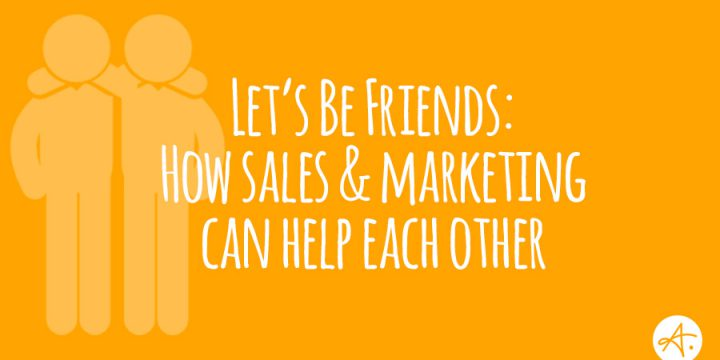 Aeroleads sales and marketing help each other