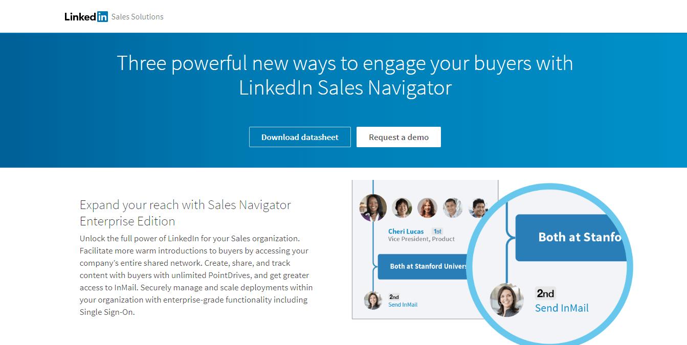 linkedin sales solution