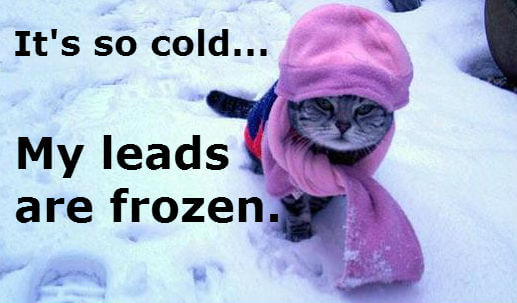 Aeroleads cold leads