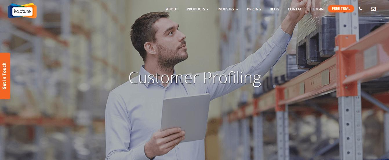 Aeroleads profiling tools - Kapturecrm