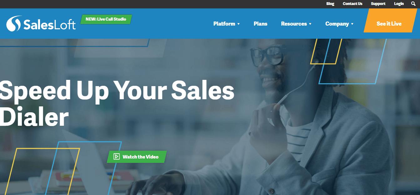 Aeroleads - salesloft