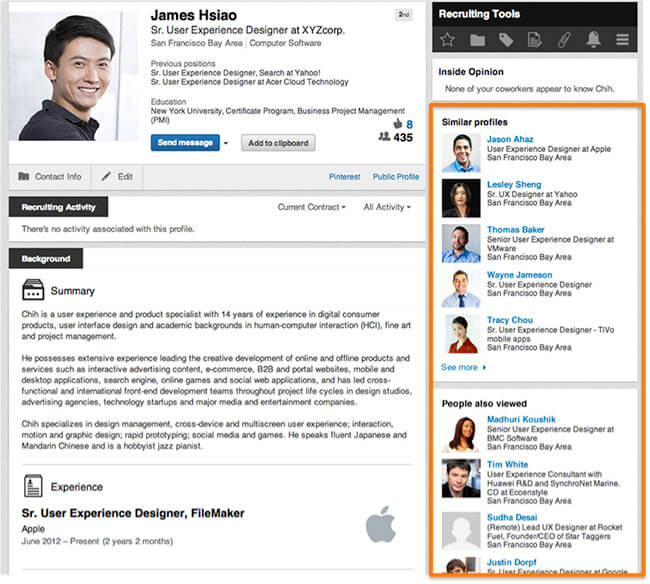 Guide on How to use LinkedIn Recruiter