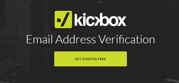 Kickbox - email cleaning and verification service