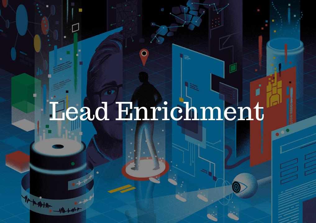 lead enrichment