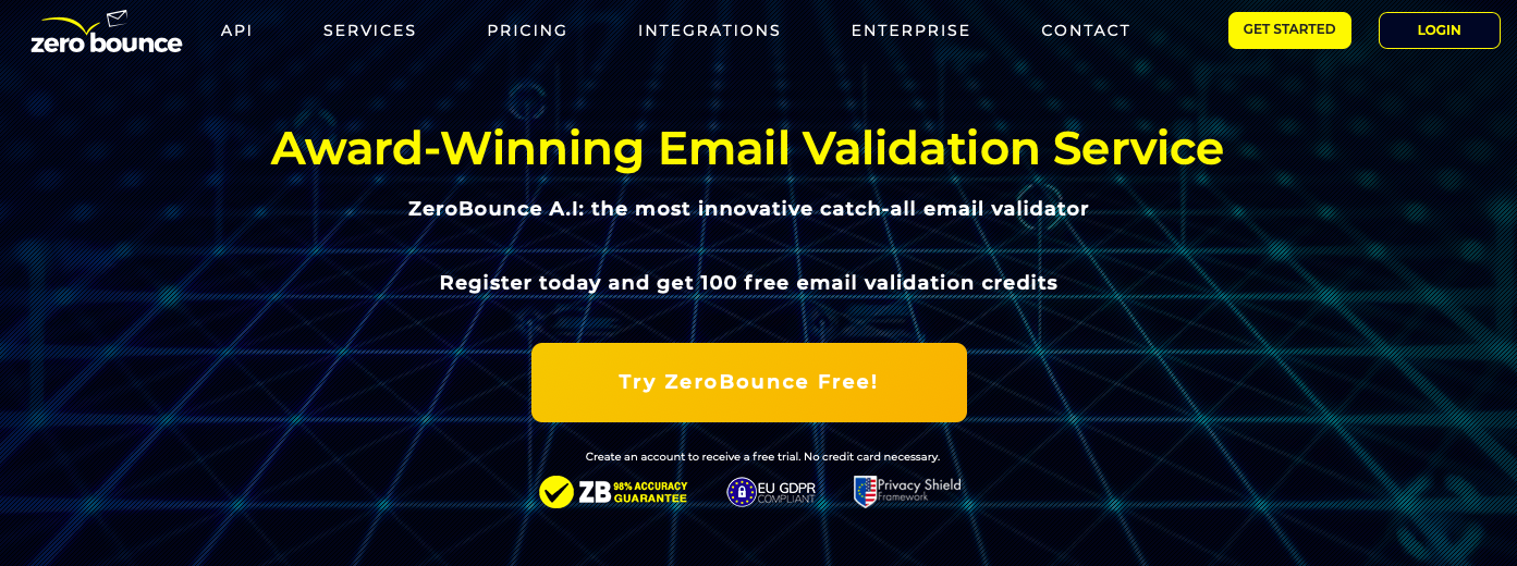 ZeroBounce email verifier