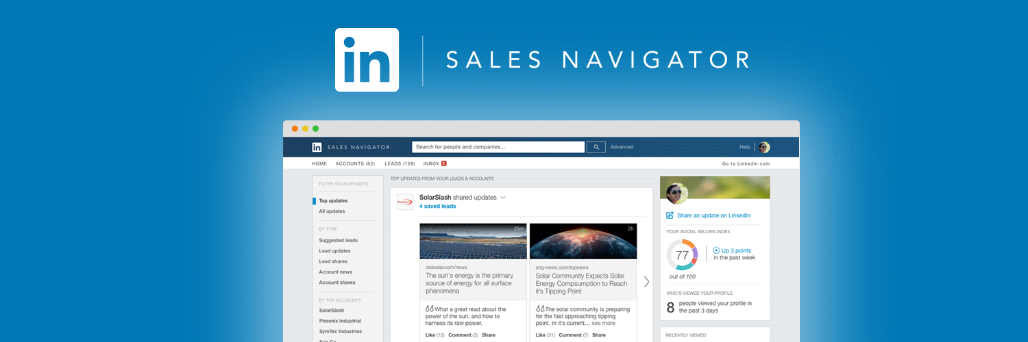 LinkedIn Sales Navigator for Lead Generation
