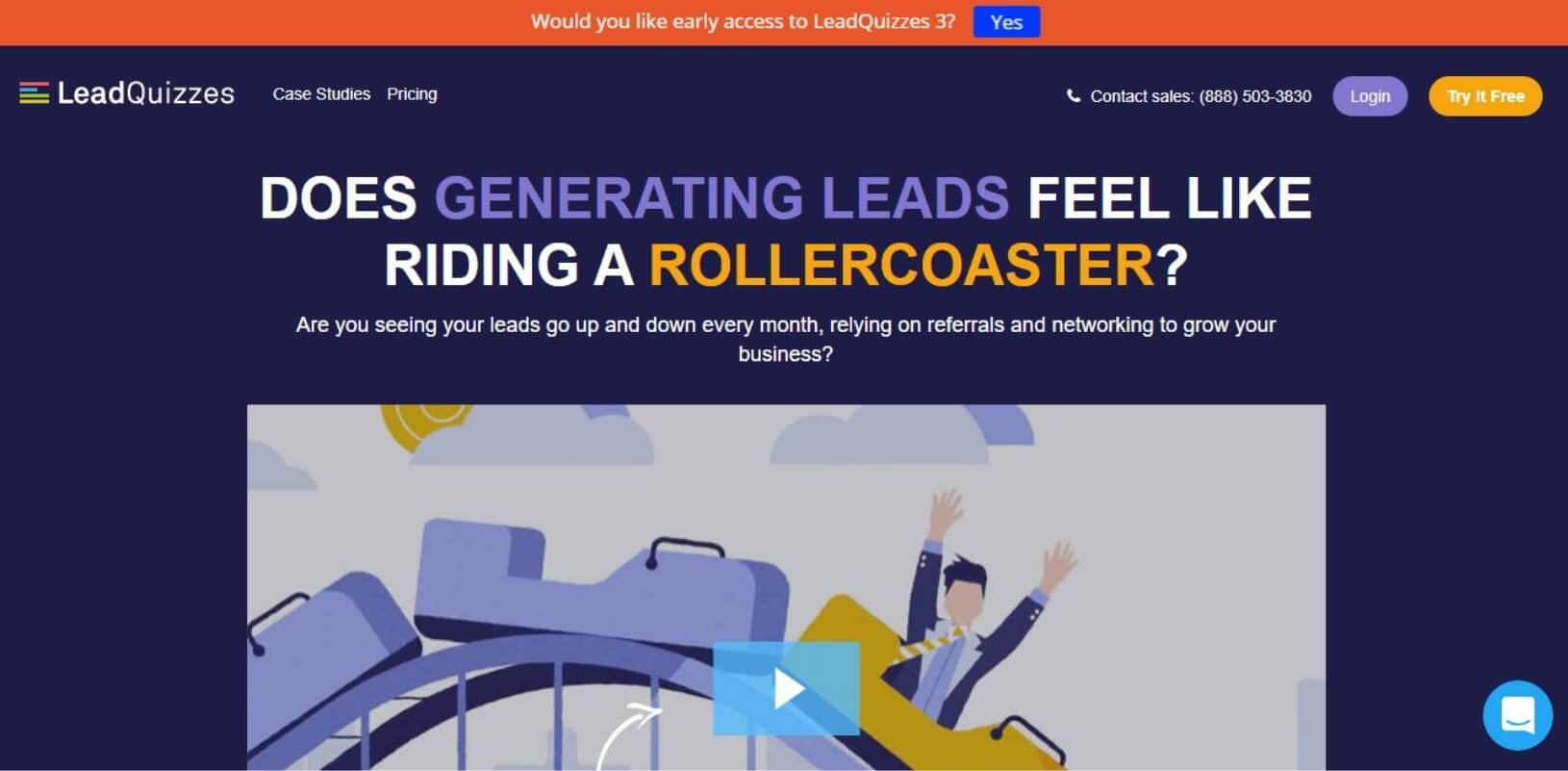 leadQuizzes lead generation tool