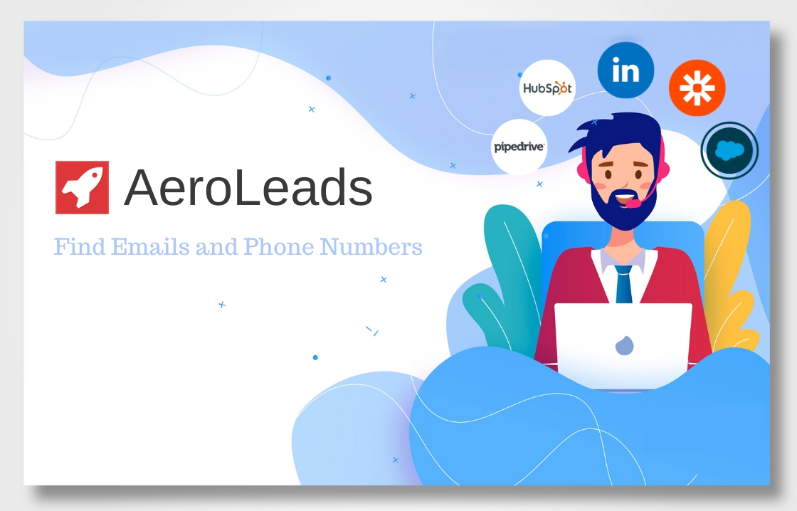 aeroleads find business emails