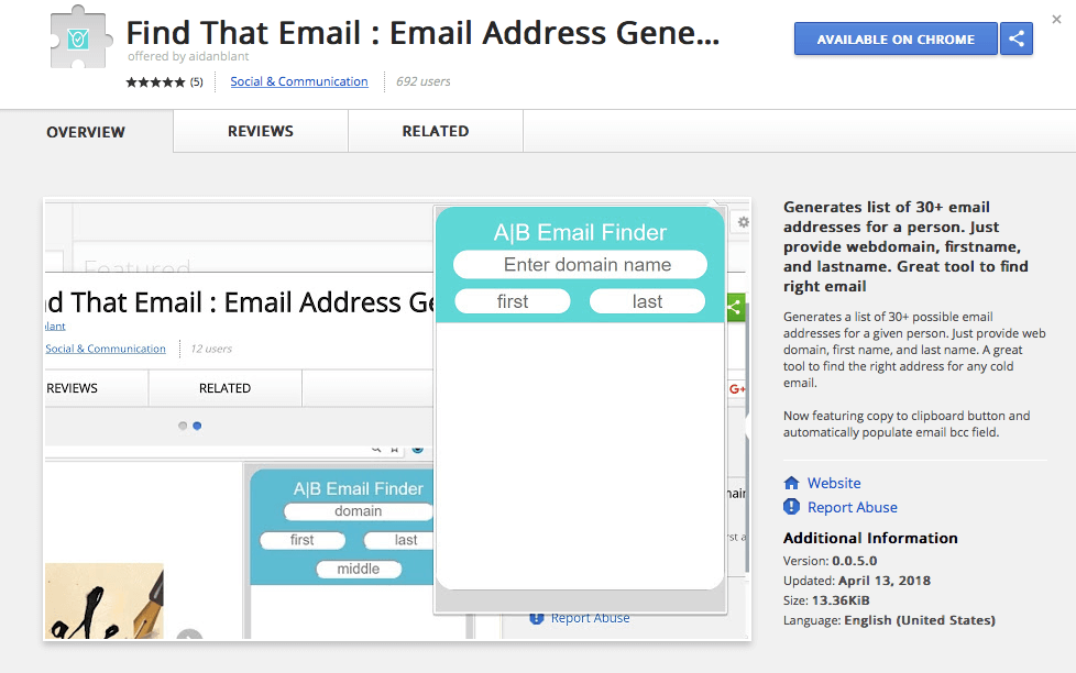 FindThatEmail