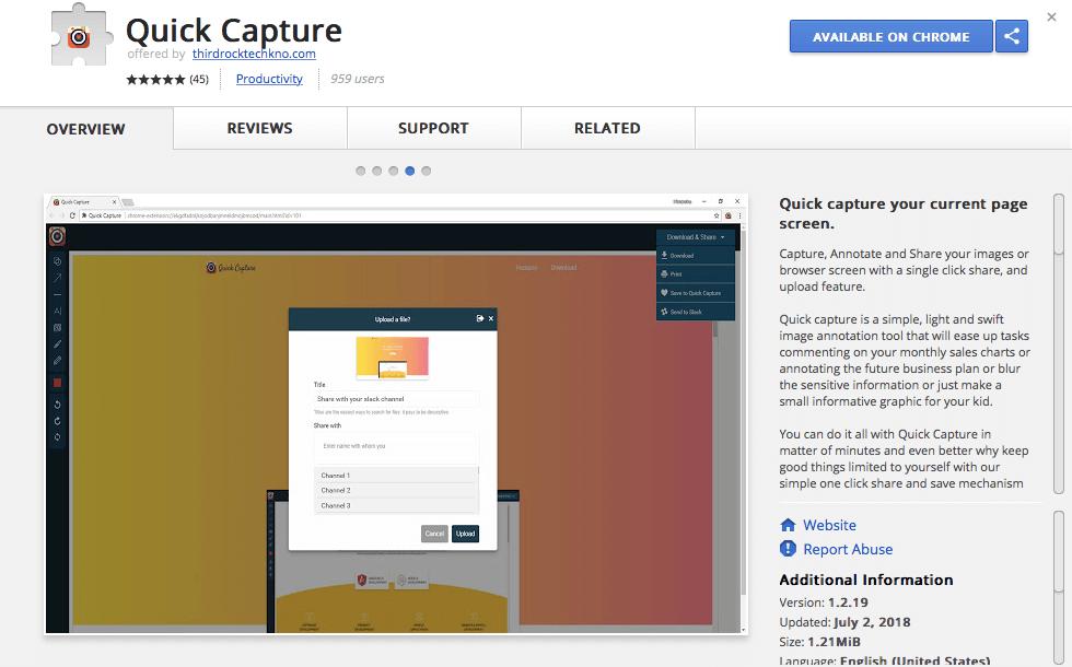 QuickCapture