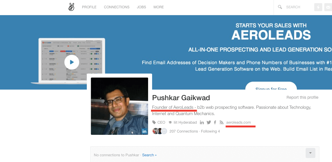 How To Find Business Email Addresses On AngelList - AeroLeads