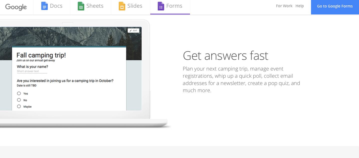 Google Forms - AeroLeads Blog
