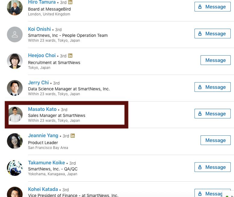 Linkedin + Crunchbase