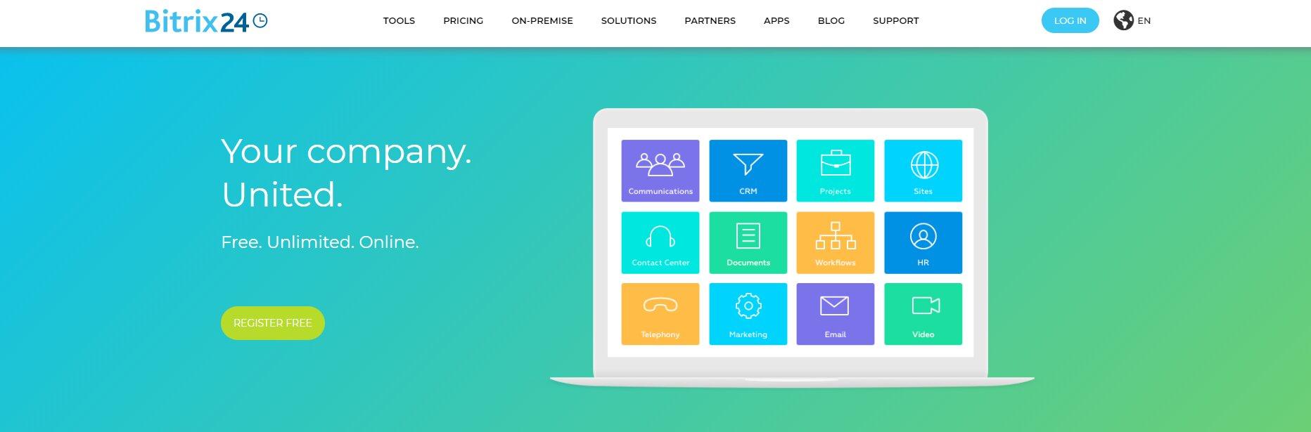 bitrix sales crm tool