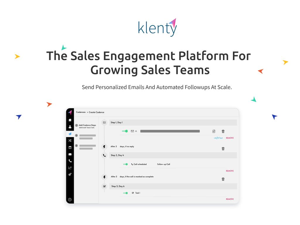 klenty sales tool
