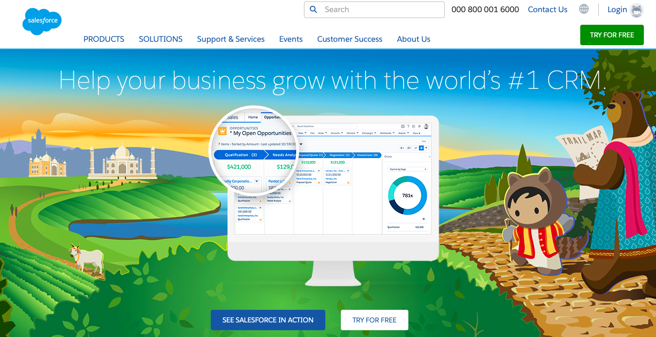 Salesforce - lead generation