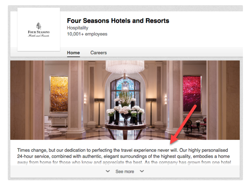 four seasons linkedin