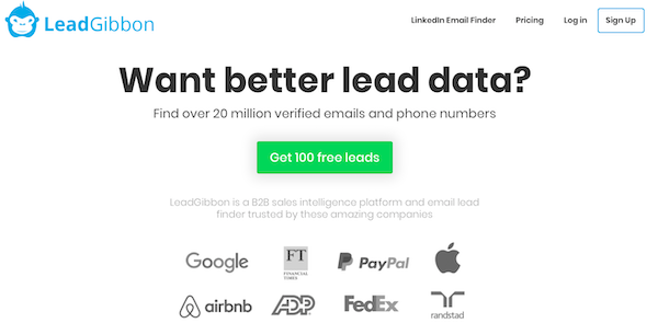 LeadGibbon email finder