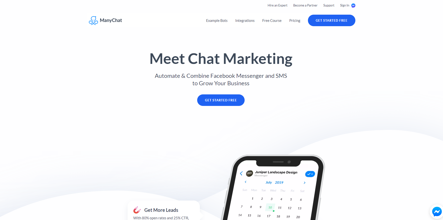 ManyChat - chat marketing