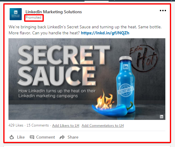 LinkedIn SECRET SAUCE