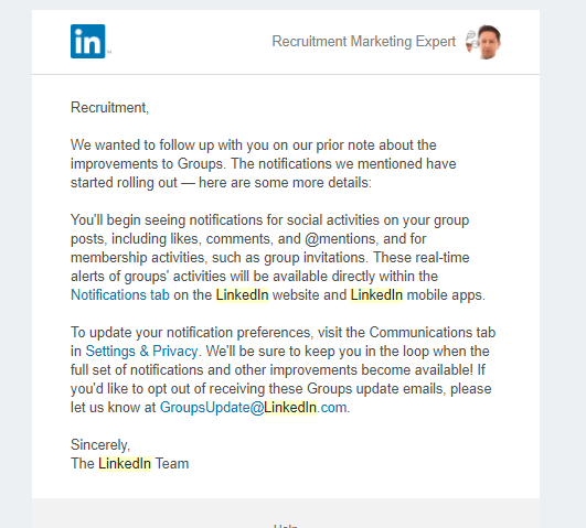 LinkedIn-Group-Update