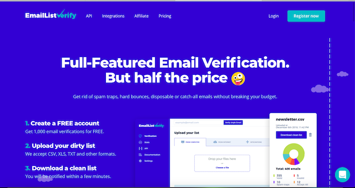 email list verify