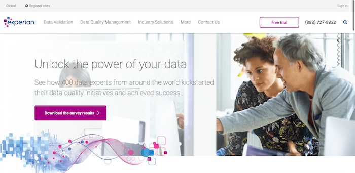 Experian Data Quality email verifier