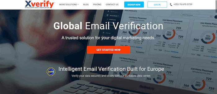 Xverify email verifier