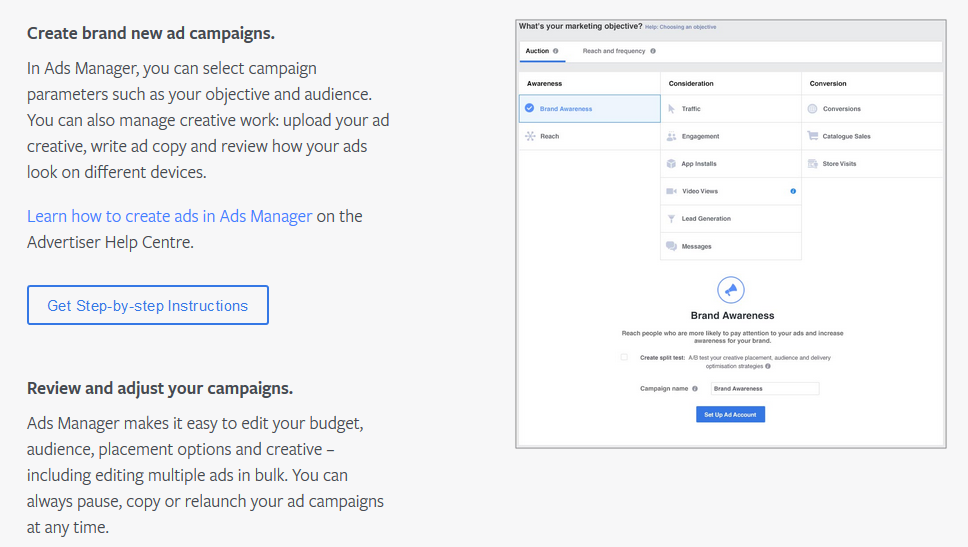 facebook ad manager tool to get more leads