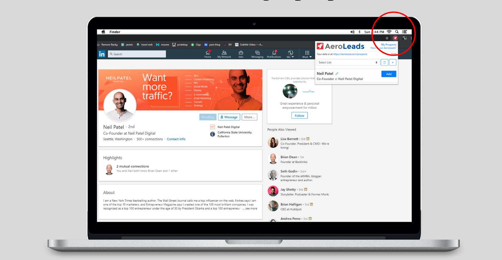 linkedin automation tools - aeroleads