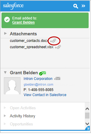 add emails to salesforce