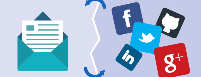 social media vs email marketing header image
